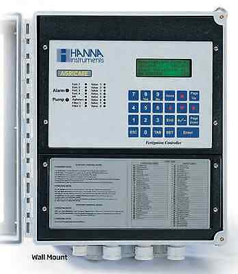 Hanna Instruments HI8002-0100U Fertigation controller, Wall Mount 8 Sector 115V