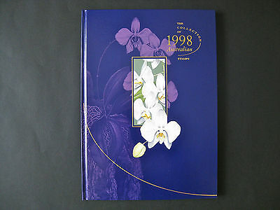 Collection of 1998 Australian Stamps Deluxe YearBook - NEW as issued by AP