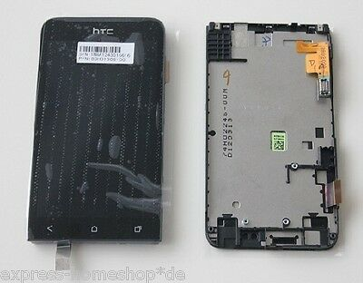 Original HTC ONE V Touchscreen + LCD Komplettset Front Glas Display Scheibe