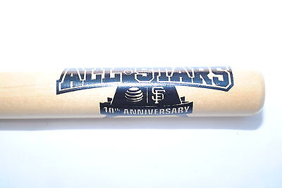 San Francisco Giants Commemorative Community Stars Mini Baseball Bat
