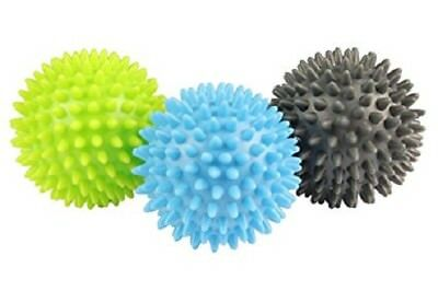 Fitness Mad Trigger Point Massage Balls Set of 3 Acupressure Exercise Gym