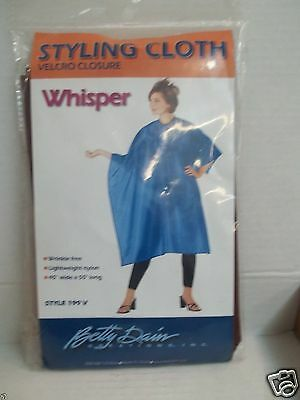 BETTY DAIN Styling Cloth Whisper ~ Nylon, Wrinkle Free - Style 199 V ~ Burgundy!
