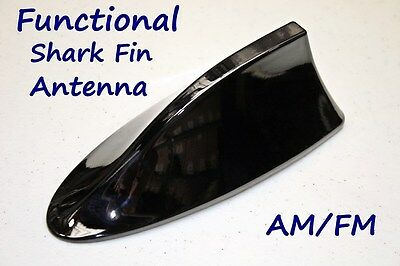 Functional AM/FM Shark Fin Antenna with Circuit Board - Fits: Nissan Sentra