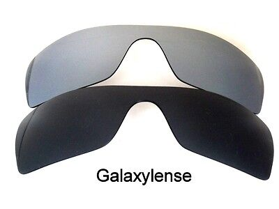 6cd5f792acbb8 Galaxy Replacement Lenses for Oakley Batwolf Black Titanium Polarized 2  PAIRS