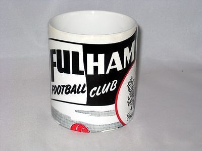 Fulham Football Programme Collectionneurs Grand Neuf MUG