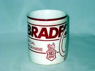 Bradford Ville Football Programme Collectionneurs Grand Neuf MUG