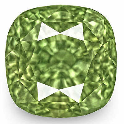3.89-Carat GIA-Certified VVS-Clarity Yellowish Green Alexandrite from India