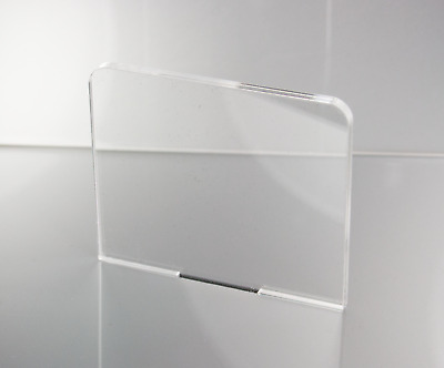 6MM, 8MM, 10MM CLEAR ACRYLIC PLASTIC SHEET PERSPEX SIZES A5, A4, A3, 100mm-600mm