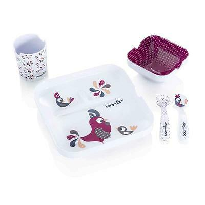 Babymoov 5-teiliges Geschirrset Lovely Lunch Bird NEU