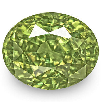 2.86-Carat Magnificent Eye-Clean Fiery Green Color-Changing Alexandrite (GIA)