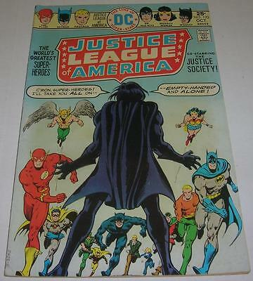 JUSTICE LEAGUE OF AMERICA #123 (DC Comics 1975) 1st named app EARTH PRIME (FN+)
