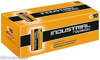 4 x Duracell Industrial Procell MN1400 LR14 C Cell Alkaline Batteries - x4 Loose
