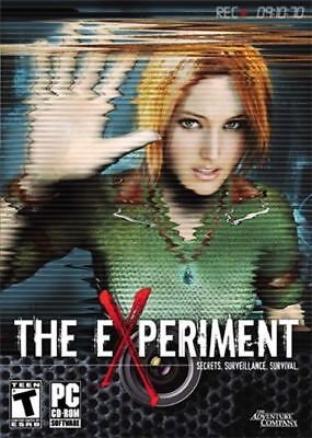 The Experiment Surveillance Survival PC XP/Vista NEW