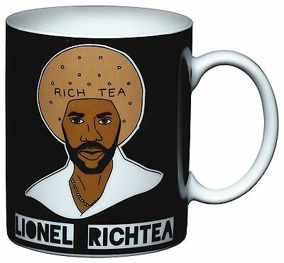 Kitchen Craft Kitsch'n'Fun Novelty Lionel Rich Tea Comical Character Mug Cup