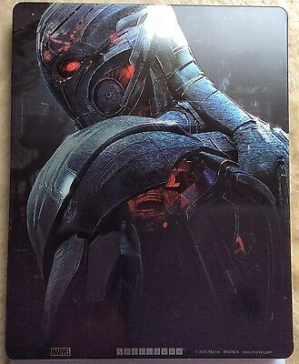 Ultron Steelbook Marvel's Avengers: Age of Ultron 3D disc only *NO OTHER PARTS*