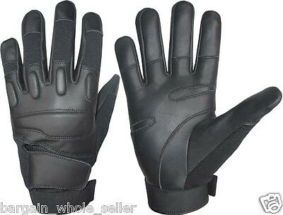 Riot Police Combat Assault Tactical Security Hunting Shooting Training Gloves