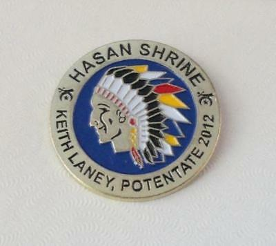PIN - Hasan Shrine Temple - Keith Laney Potentate - 2012 -