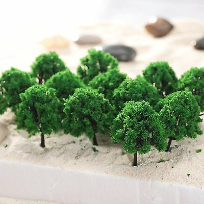 20X Model Tree Train Street Park Scenery Layout HO 1:100 Scale Accessories Parts