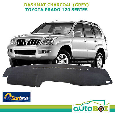 DashMat for Toyota Prado 120 2/03 to 9/09 Charcoal  Sunland Dash Mat Protection