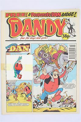 The Dandy 2756 September 17th 1994 Vintage Comic Korky Desperate Dan Free Gift