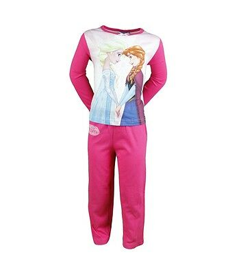 Pyjama Enfant Disney Frozen  La Reine Des Neiges Rose