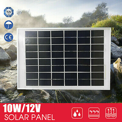 10W 12V Solar Panel Battery Charging Kit Caravan Camping Power Mini Home Au Post