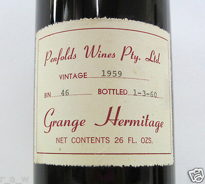 Penfolds Grange Collection 56 Bottles 1959 to 2005 with Brand New Wine Fridge