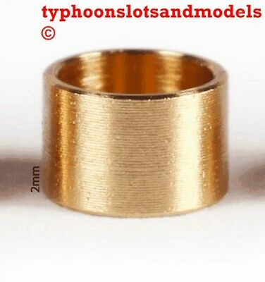 0132 SP200 Brass Spacer 2.0mm x 10 -New
