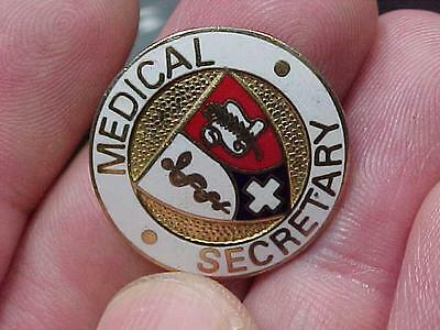 Medical Secretary Nursing Nurse  Pin (15i1)