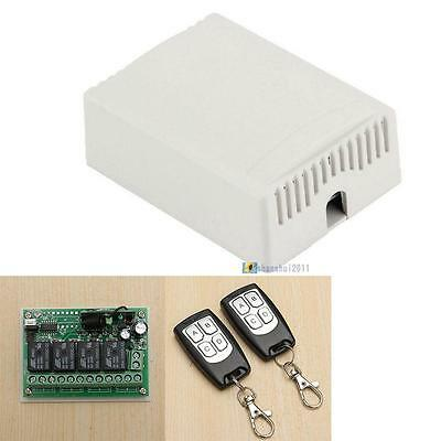 DC12V 4CH Channel Wifi Remote Control Radio Relay Switch Transceiver Receiver SS