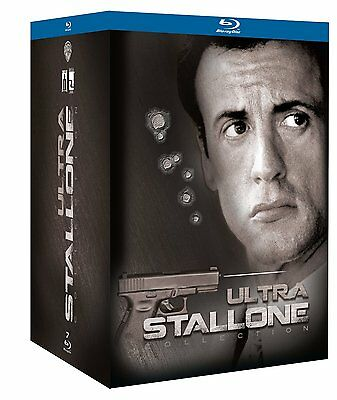 STALLONE COLLECTION ULTRA (7 BLU-RAY) COFANETTO WARNER con Sylvester Stallone
