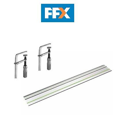 Festool 491498/4 Guide Rail for TS55R and Clamp