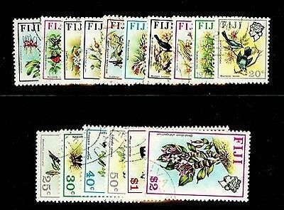 Sg435-450, 1971 Birds & Flowers set, VERY FINE used. Cat £40.