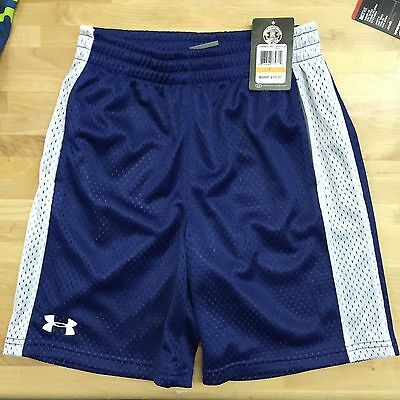 Under Armour boys Dominate shorts American Blue