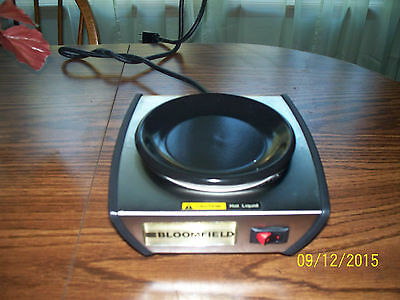 New Bloomfield Hot Plate