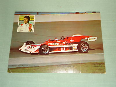 Old Mario Andretti - Viceroy Special #11 Large Postcard 1973
