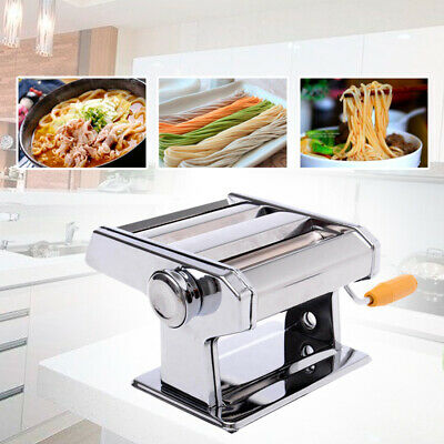New Pasta Noodle Maker Machine Cutter For Fresh Spaghetti Thickness Settings