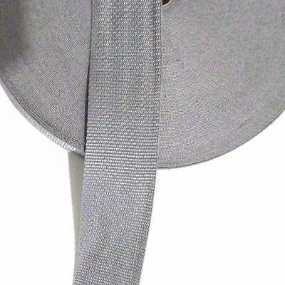 WEBBING 50mm (2inch) - GREY - SEWING AND PATCHWORK- By the Metre