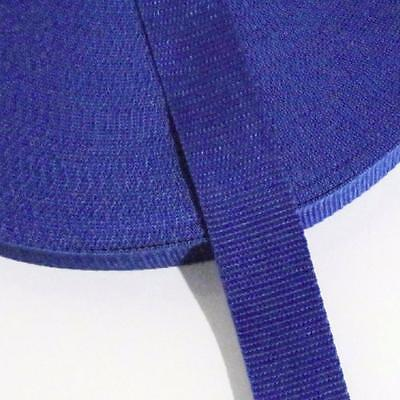 WEBBING 32mm (1¼ INCH) - ROYAL BLUE - SEWING AND PATCHWORK- By the Metre