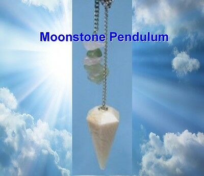 Moonstone Pendulum Emotional Balance