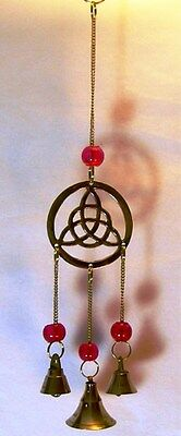 Triquetra Moon Wind Chime 26 cm