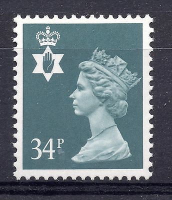 GB = NORTHERN IRELAND 34p Regional. (Litho by Questa). MNH. SG NI66.