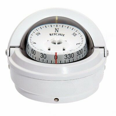 NEW Ritchie S-87W Voyager Compass - Surface Mount - White