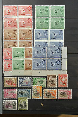 Lot 23559 Collection stamps of Ghana 1957-1983.