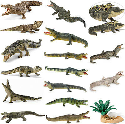 Schleich Bullyland Safari Collecta Papo Krokodil Alligator Figuren Wählen NEU
