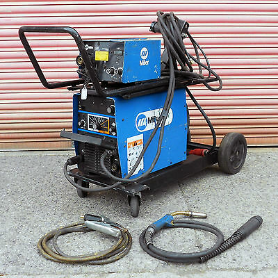 Miller XMT 304 Multi Process 300A Welder With S-22A Wire Feed Unit Package