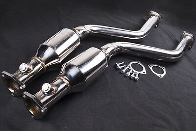 BMW E46 M3 & CSL 200 Cell Sports catalytic converter sports cat Downpipe