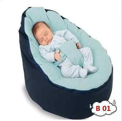 Cheap Baby Bean Bag Child Beanbag Portable Bed No Stuffings with Zipper 2 Colors