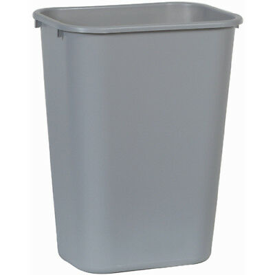 Rubbermaid FG295700GRAY Wastebasket, Large, Gray