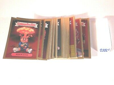 2003  03  Garbage Pail Kids GPK  ANS  Series 1 0ne Complete Gold Set  50 cards